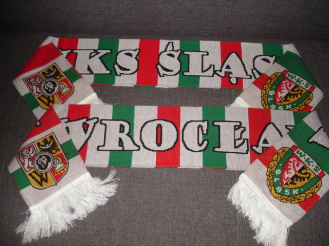 Купить шарфик WKS СИЛЕЗИЯ Вроцлав  НОВИНКА-ХИТ  на Eurozakup - цены и фото - доставка из Польши и стран Европы в Украину.