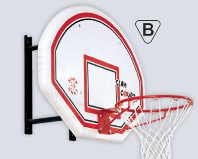 Nastaviť basketbal Rada krúžok wall mount