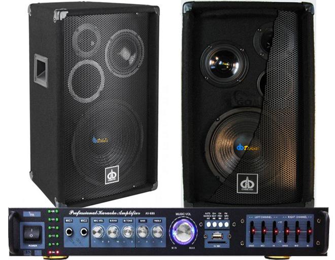 Zvukový set. Počítač / TV / Karaoke 400W