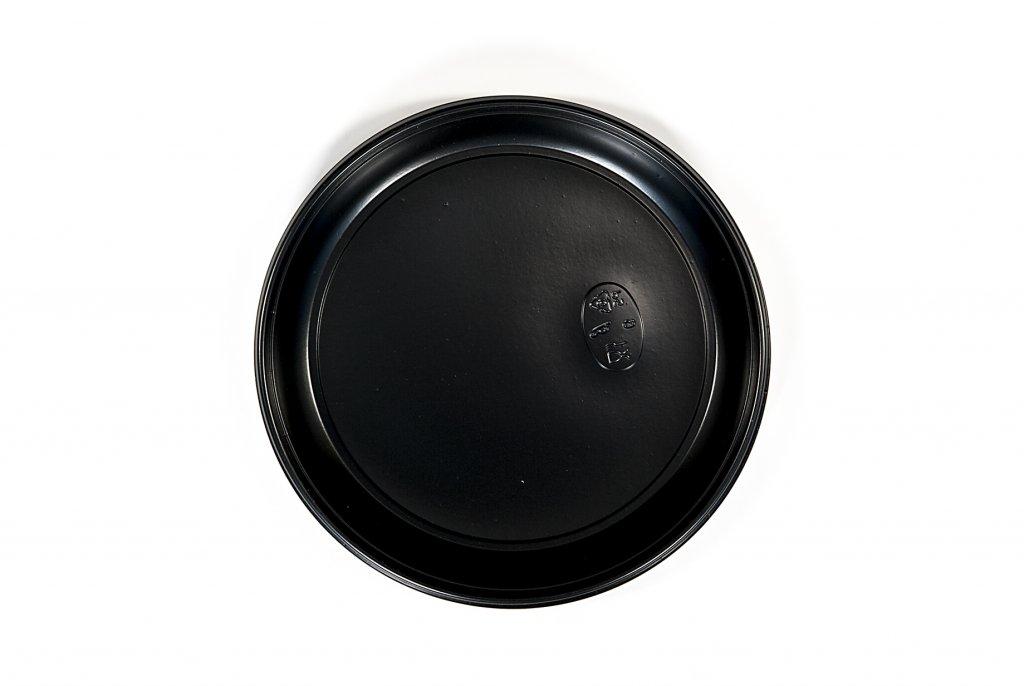 Jedlá na jednorazové platne Black Plast 26cm 100