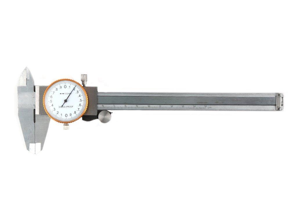 CLOCK CALIPER L-150 0.02MM Hlboké meradlo