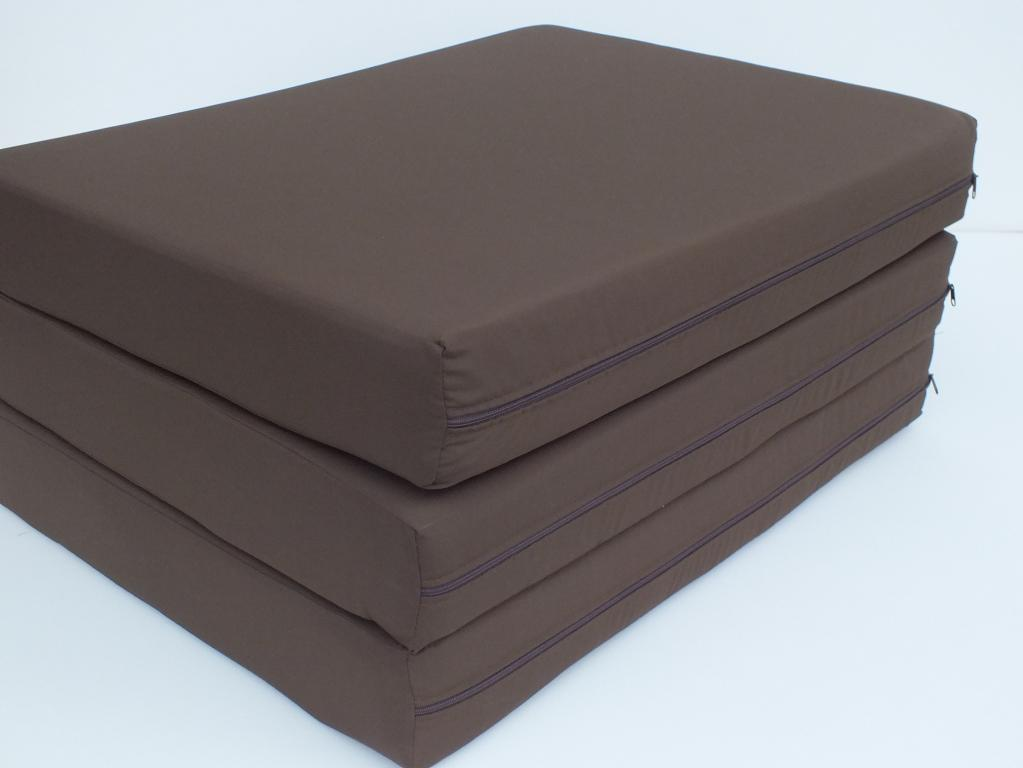 Materac materace składany + Torba 120x200x10cm