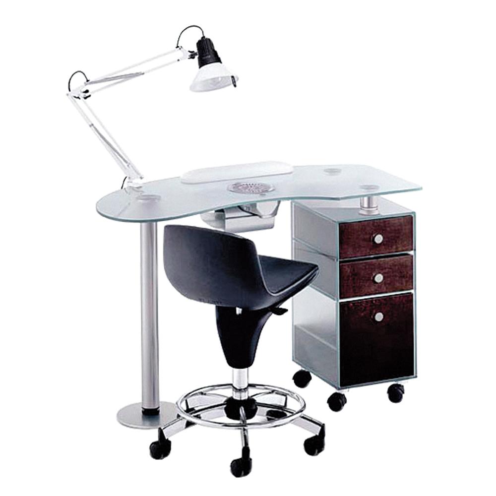 Pracovný stôl 185 LX s lampou a Panda vreckom