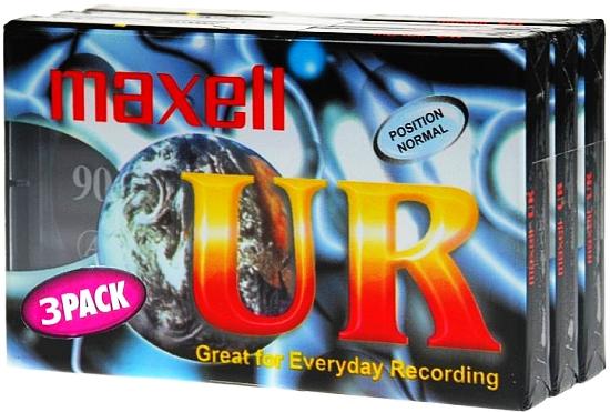 КАССЕТА АУДИО Magnetofonowa MAXELL UR90 90 минут 10шт доставка товаров из Польши и Allegro на русском