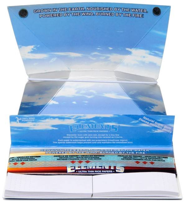 Бумажные билеты ELEMENTS ARTESANO фильтровальная бумага