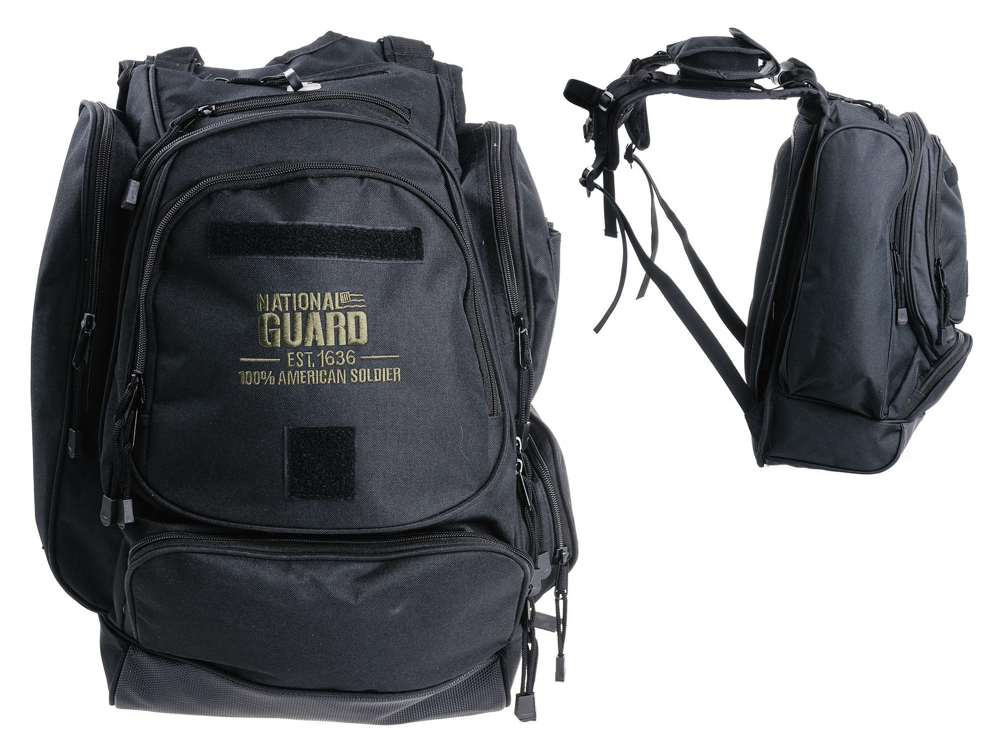 Vojenské Národnej Stráže BATOH 1000D Nylon Čierny