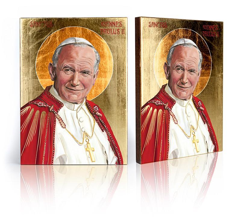 Ikona Saint John Paul II veľkosť B
