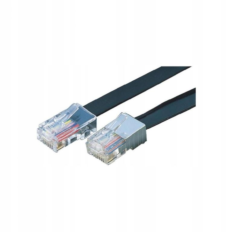 Купить 8-проводной ISDN 10м SW RJ45 10m ПЛОСКИЙ на Otpravka - цены и фото - доставка из Польши и стран Европы в Украину.