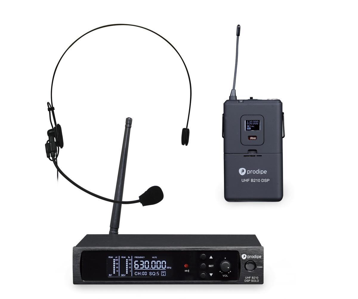Produpe Headset B210SOLO DSP UHF bezdrôtový