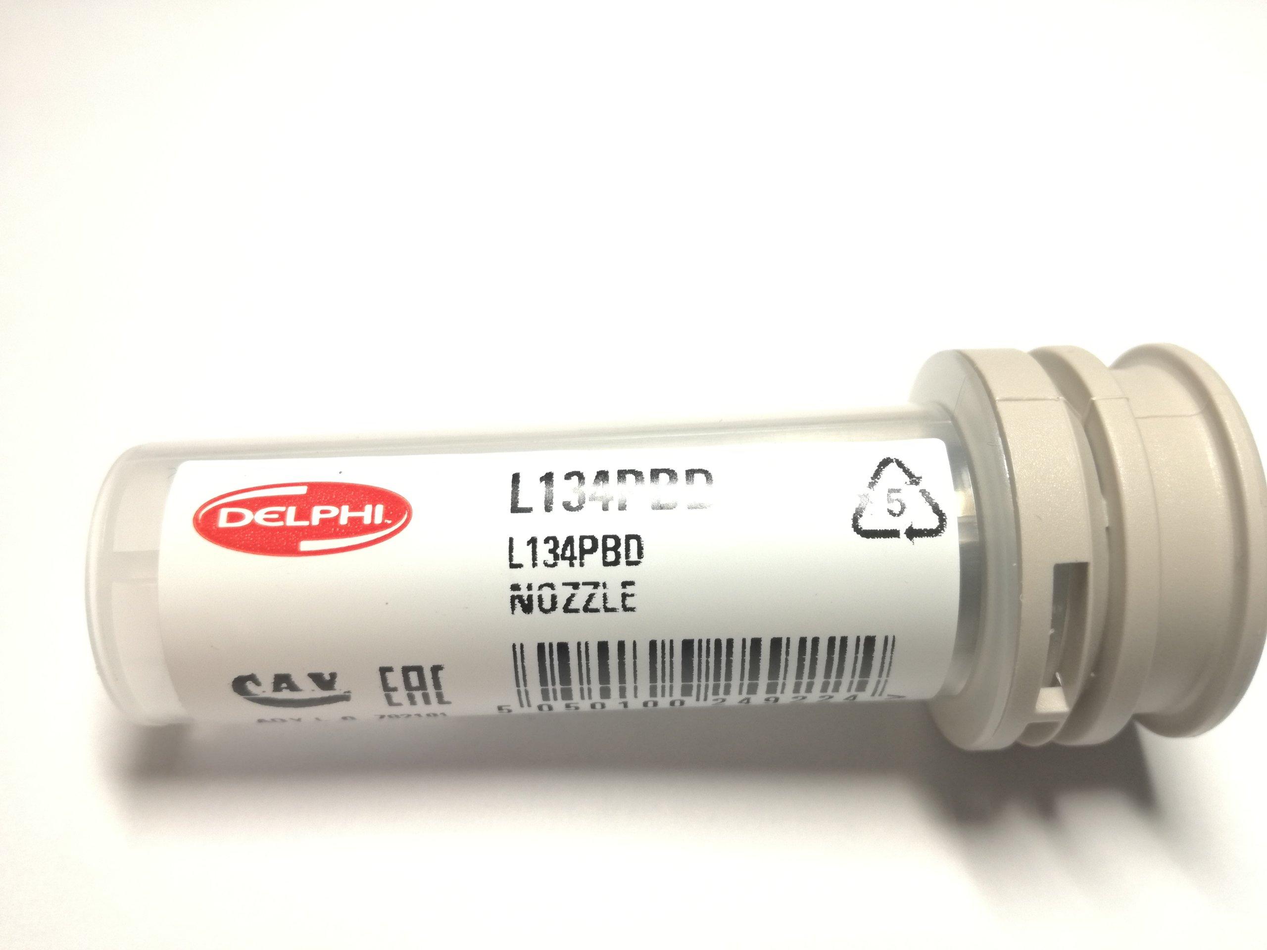 распылитель наконечник инъекции l134prd delphi l135pbd