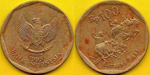 INDONEZJA 100 Rupiah 1995 r.