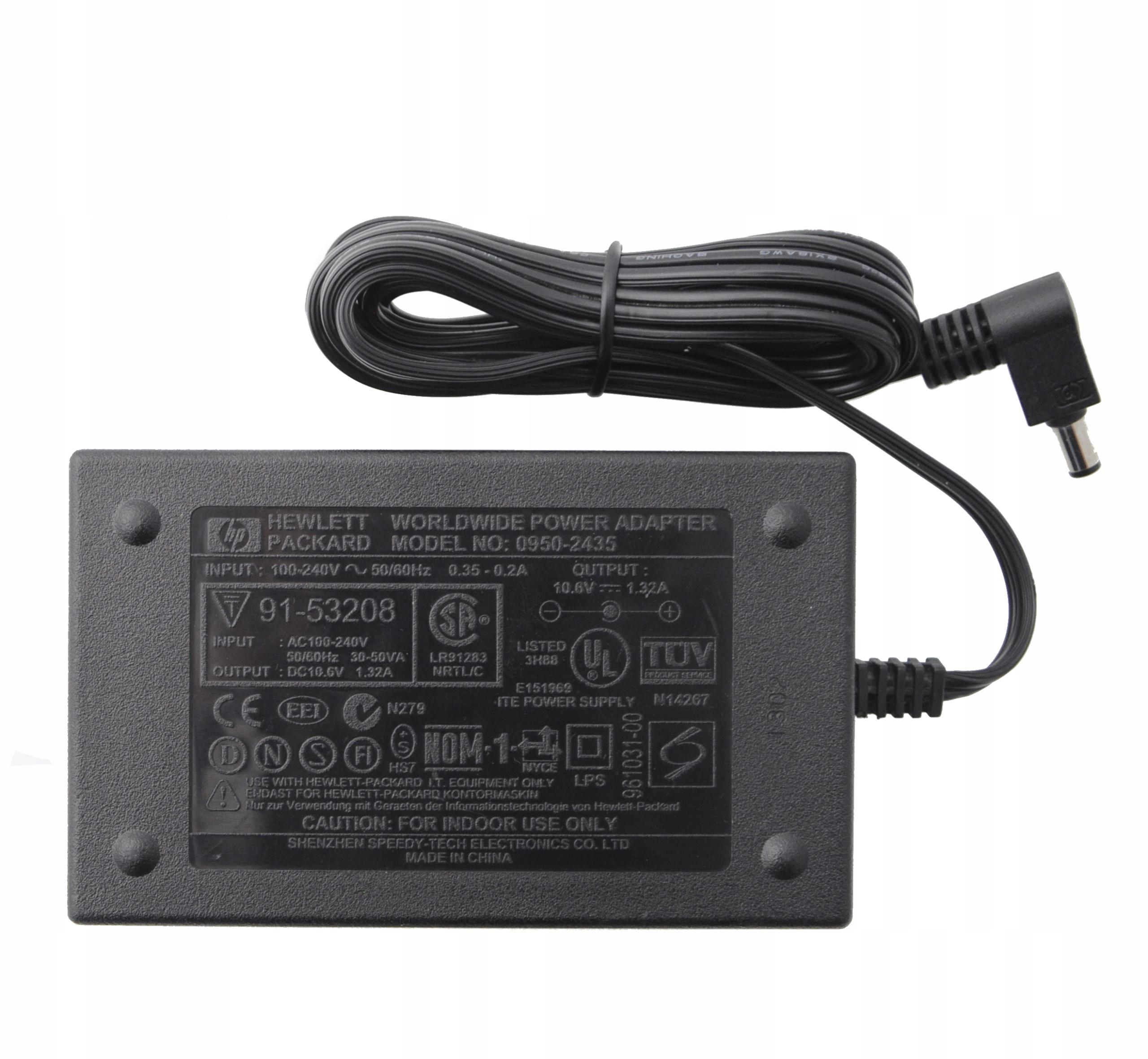 HP 0950-2435 Napájací zdroj 10,6V 1,32A Deskjet 300 310