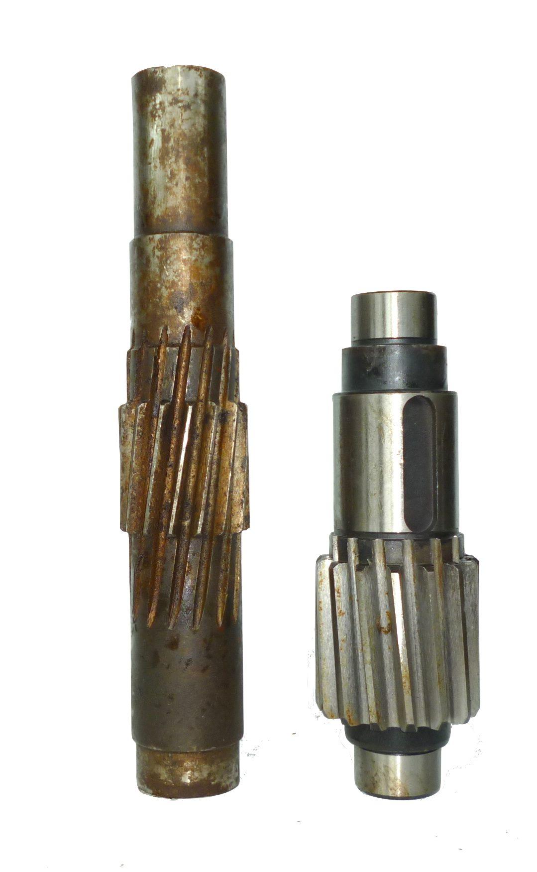 Mech nm 4-40 nožnice dlhý hriadeľ