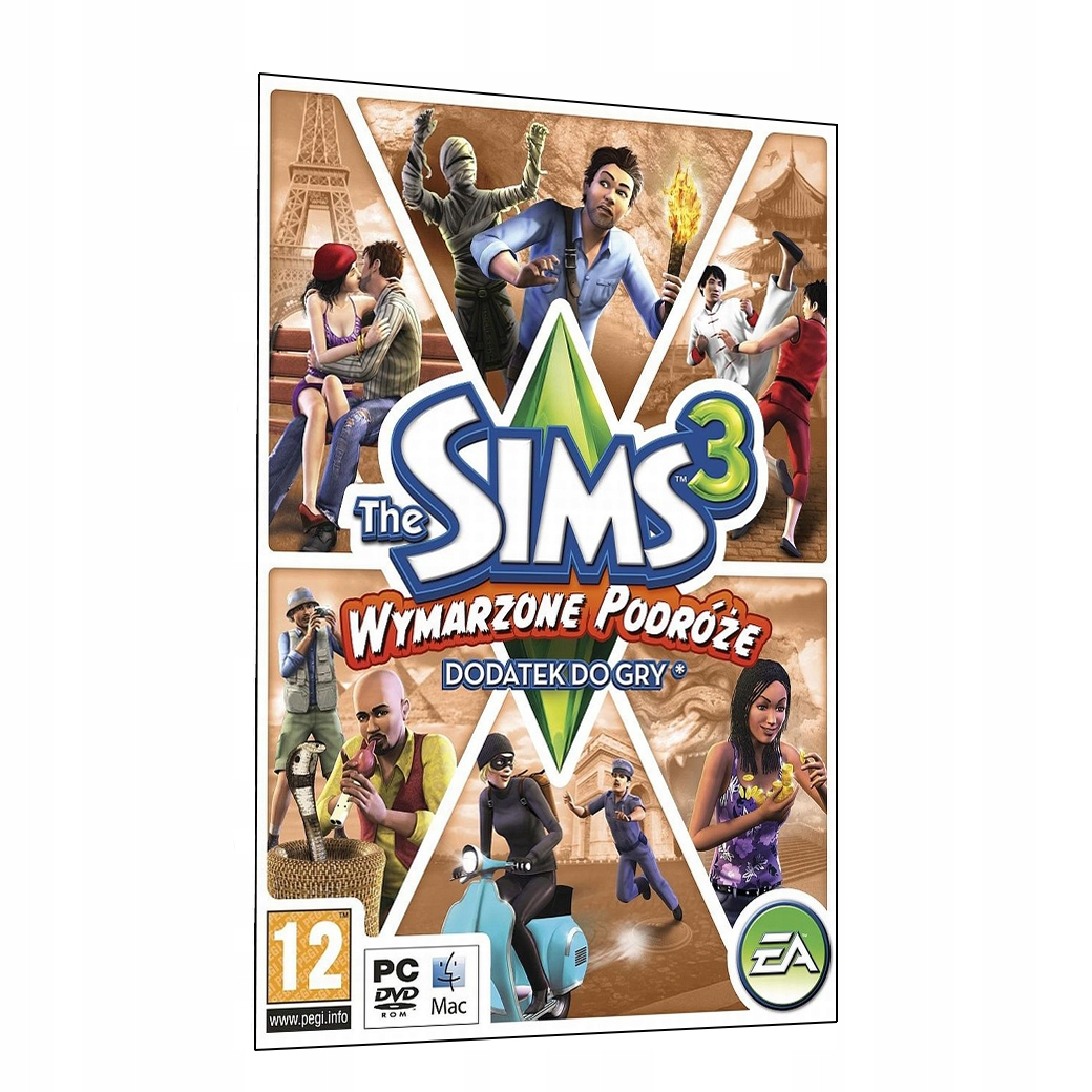 the sims 3 wymarzone podr e world adventures key 16 99 z stan nowy 6898625805