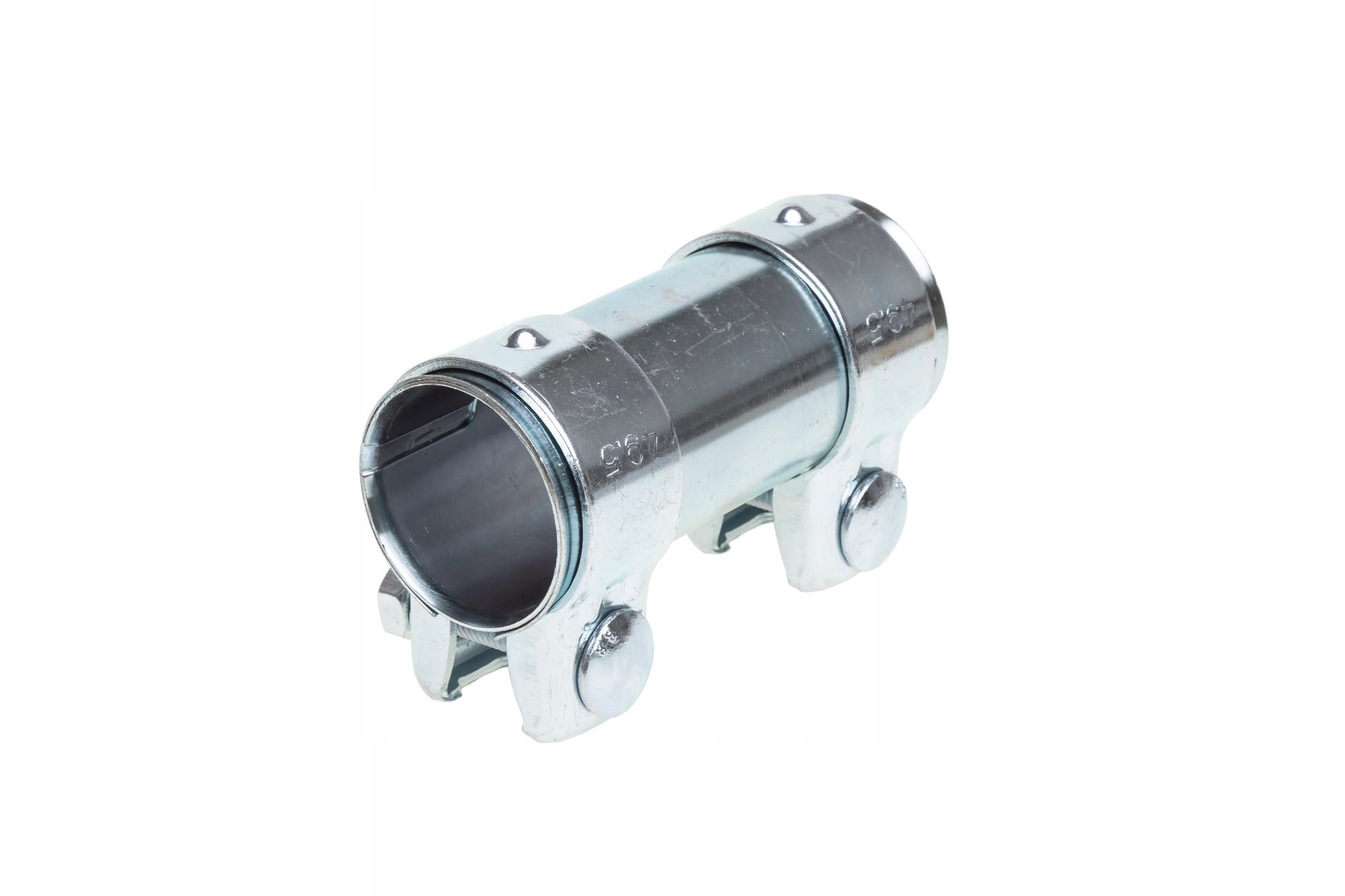 Соединитель разъем труб глушителя зажим 45x125 мм