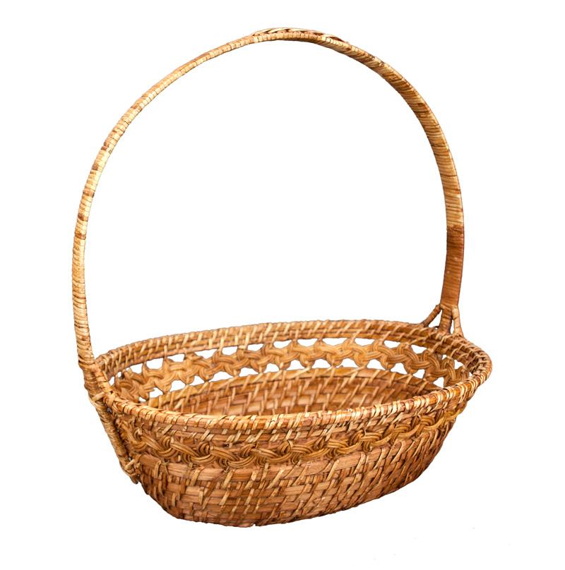 Rattan Basket pre Vianočné Veľkonočné darčeky