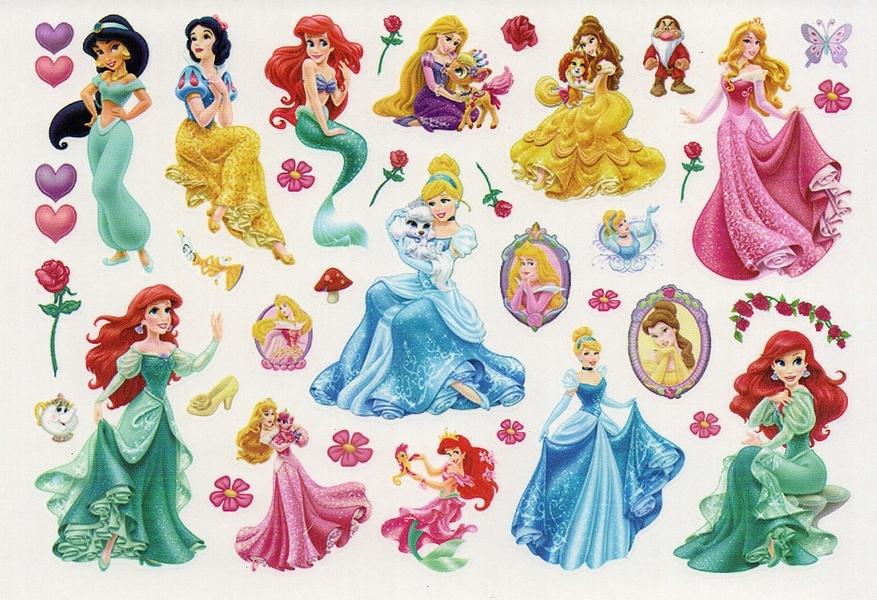Item Tattoo time zones for kids Princess 81