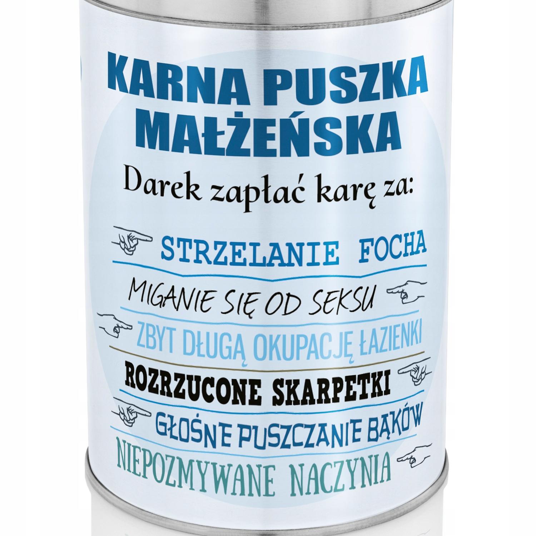 Karna Puszka Z Personalizacja Na Prezent Rocznica 7551212010 Allegro Pl