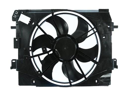 вентилятор радиатора clio iv 4 12- новый
