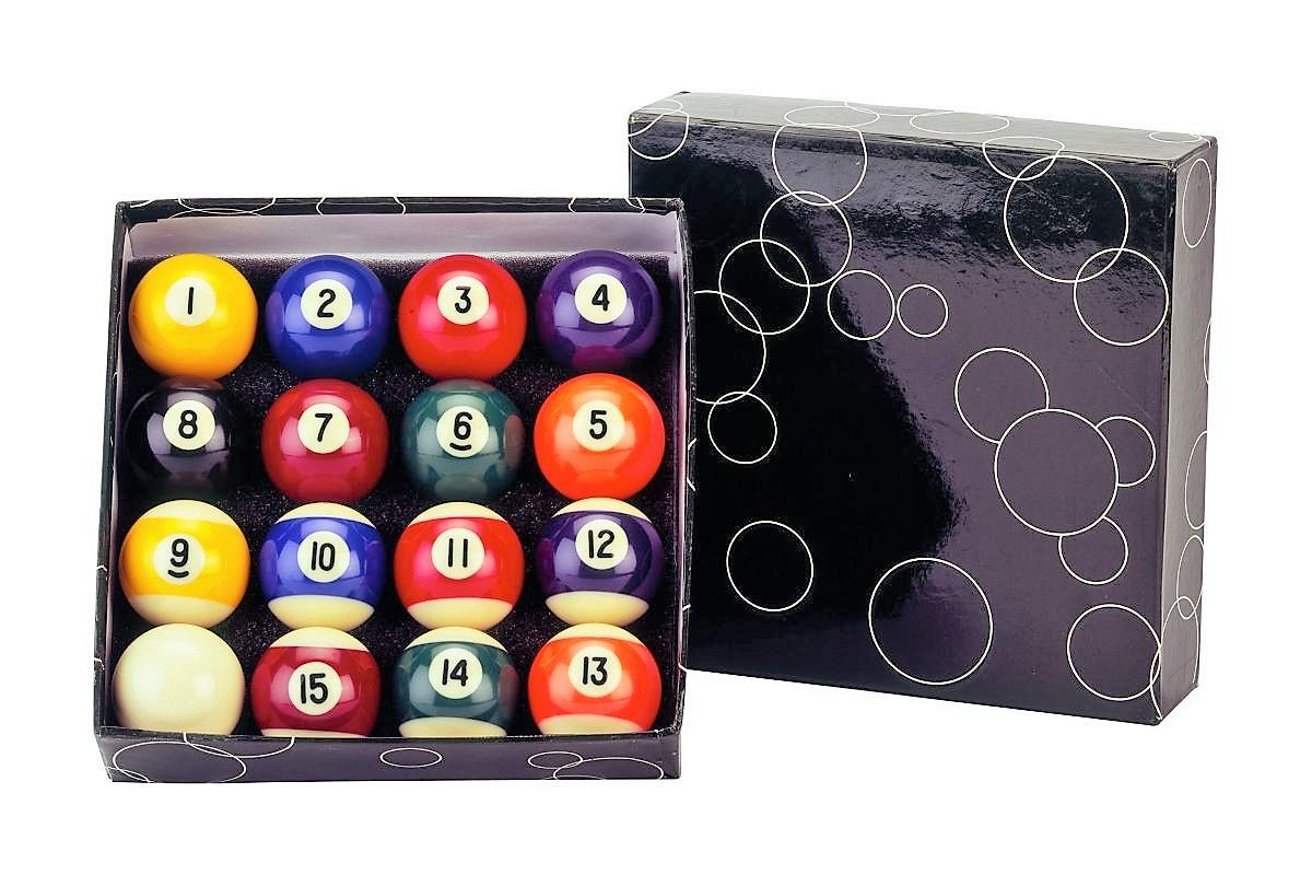 Sada Biliard Balls Standard 57.2 Nové lopty BIL