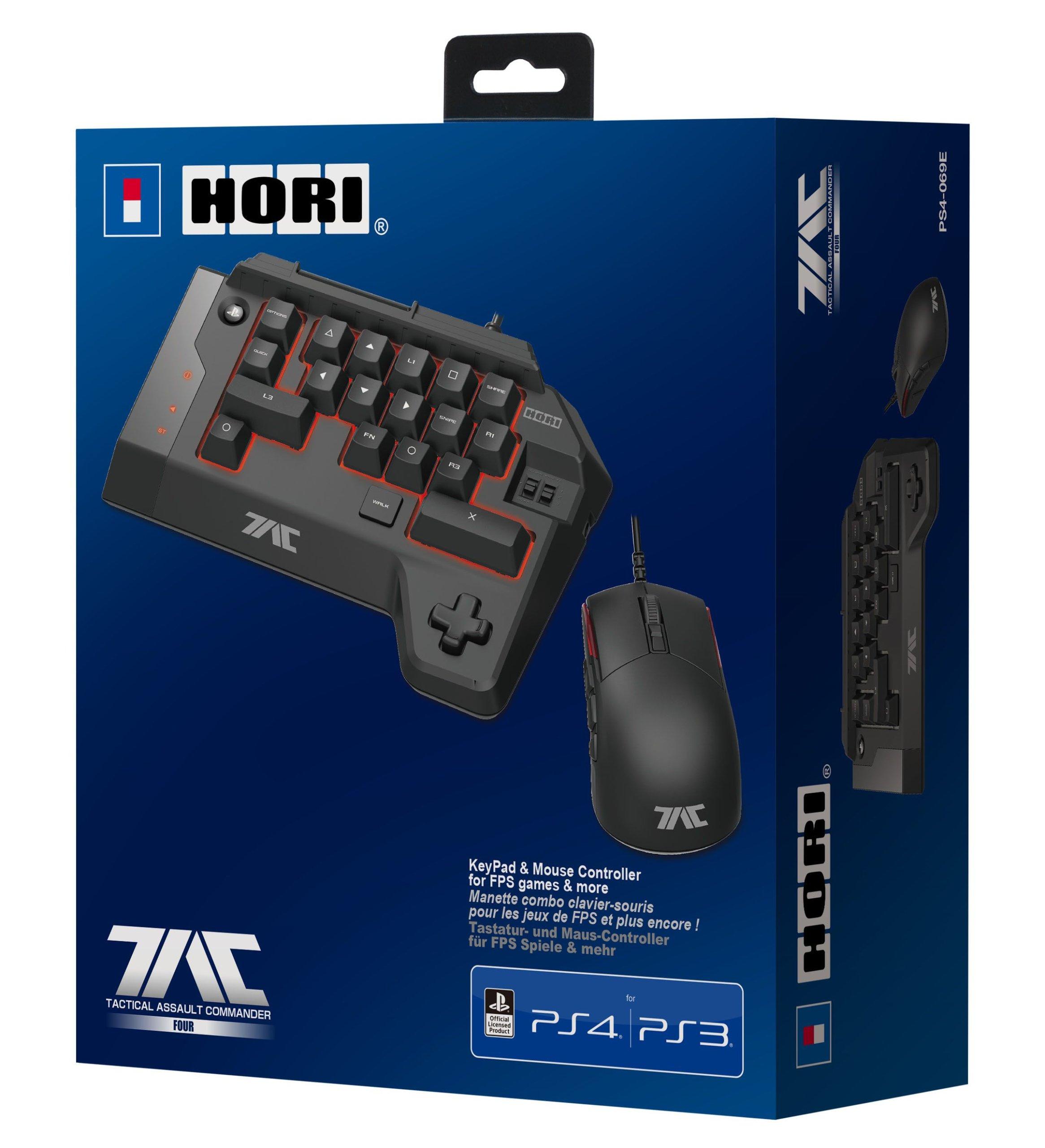 Hori tac štyri ps3 / ps4 myš + klávesnica - Sony