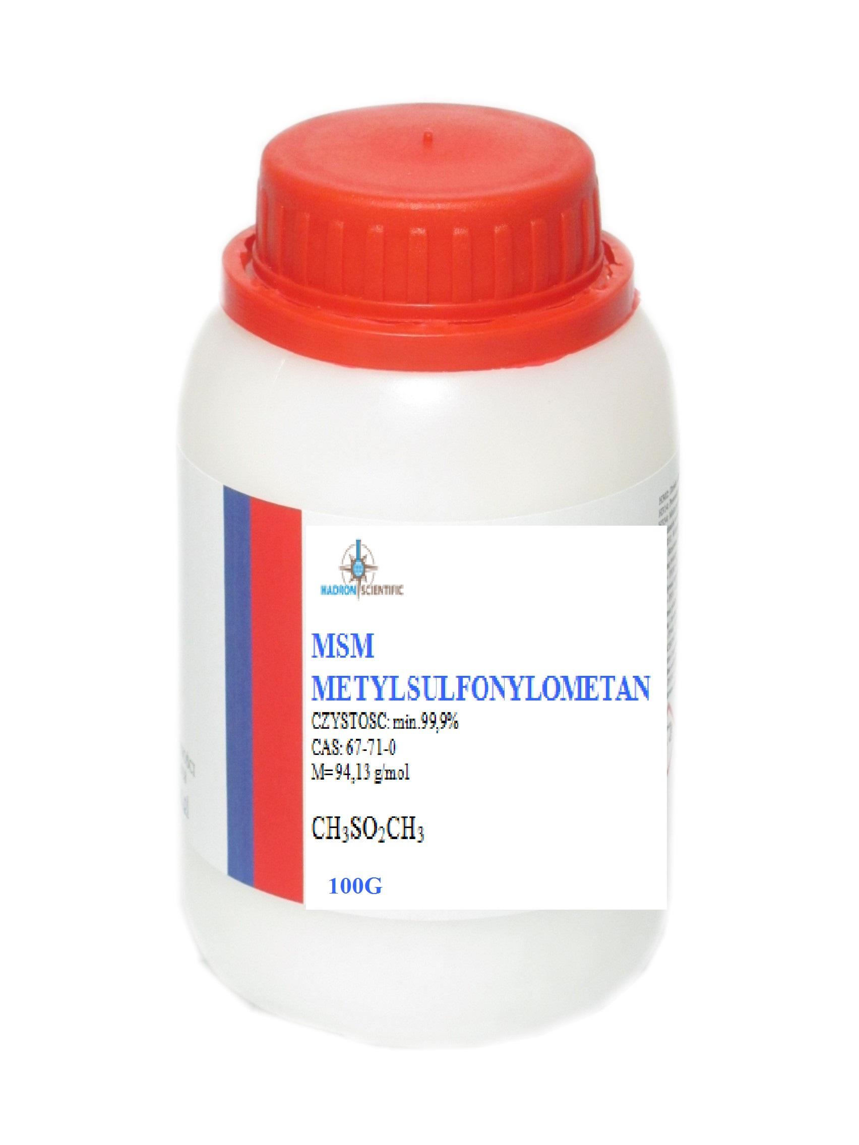 MSM metylsulfonylmetán organická síra - 100 g