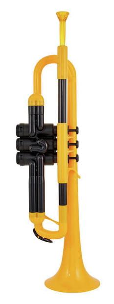 Trubka s abs ptrumpet žltá