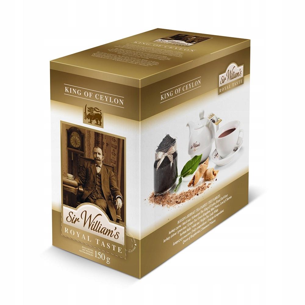 Čaj Pane Williams Royal chuť Kráľ Ceylon 50