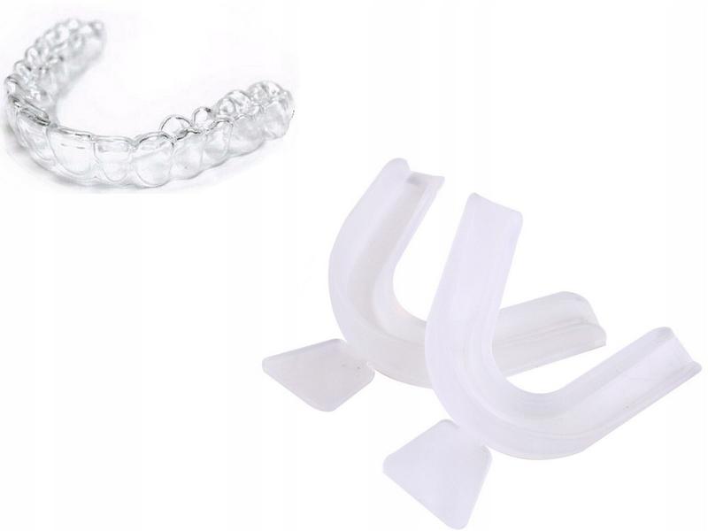 НАКЛАДКИ на зубы ТЕРМОУСАДОЧНЫЕ 2 шт. ОТБЕЛИВАНИЕ