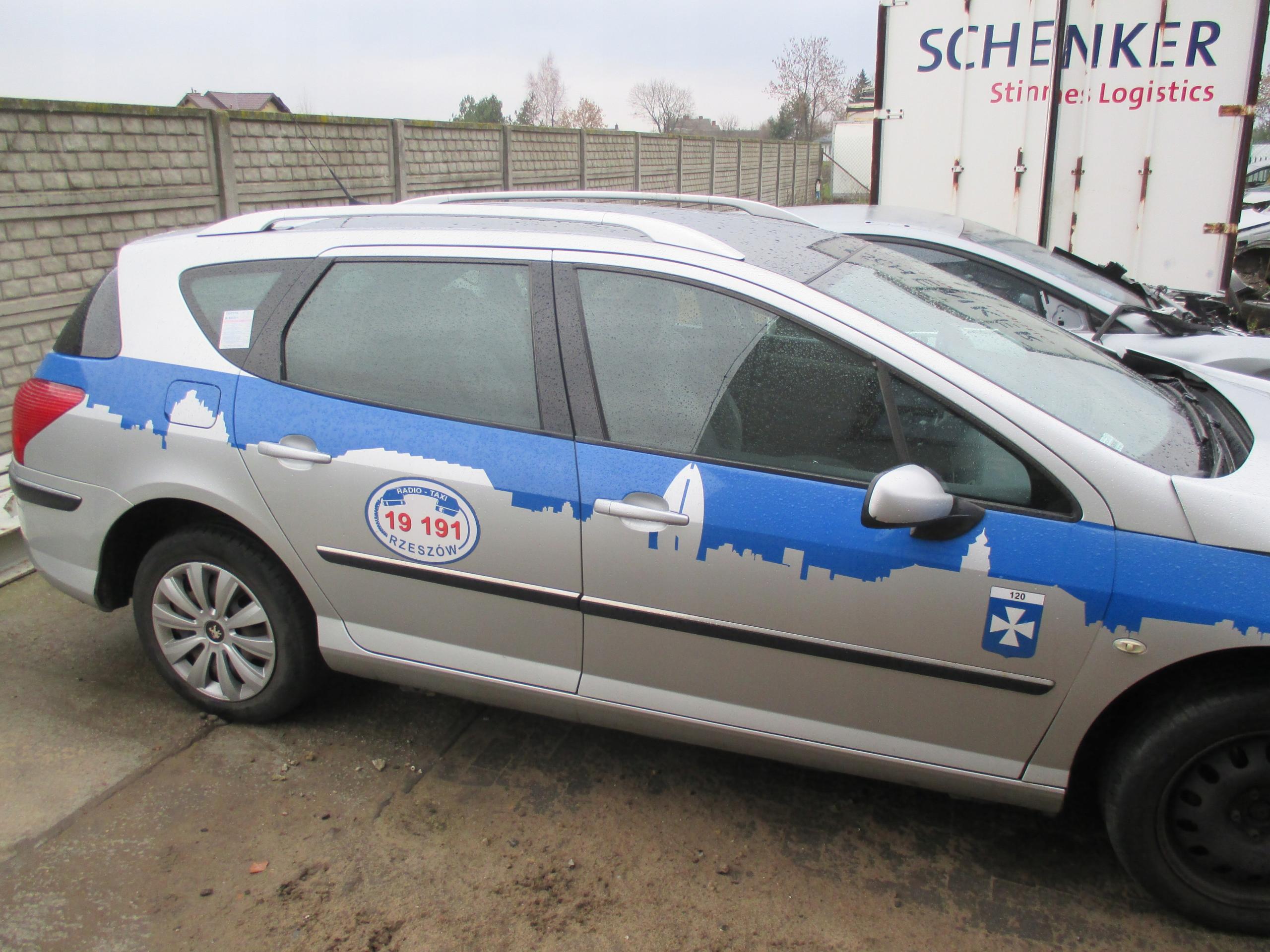 Doors Right Rear Peugeot 407 Avant Sw Lacquer Ezrc Xdalys Lt