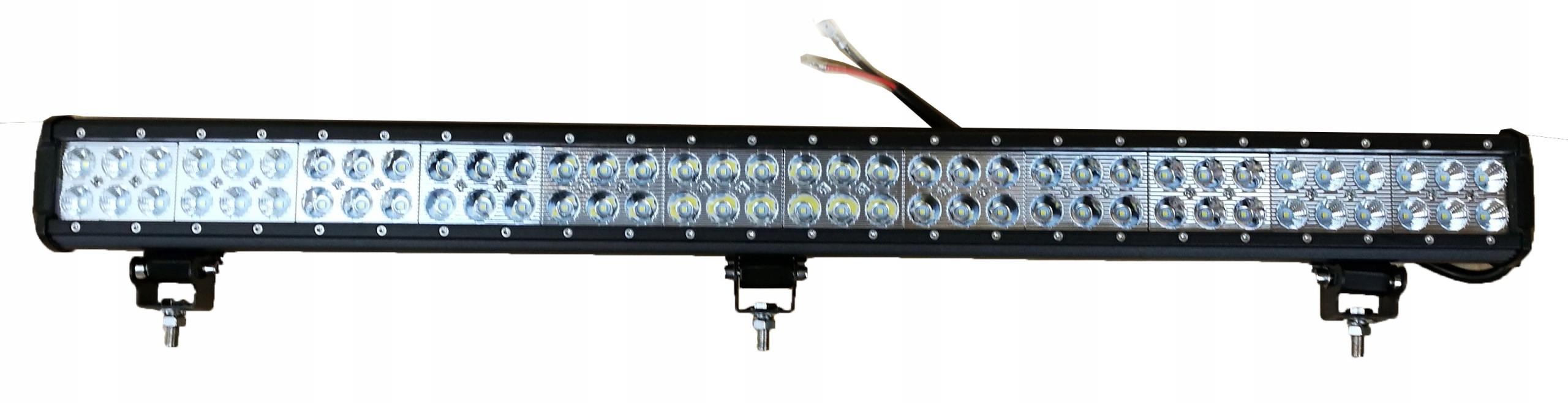 панель led галоген дальнего света планка 216w33' 84cm