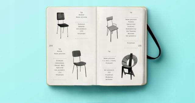 Item catalog furniture, chairs, armchairs/panorama/ Notes cz.1
