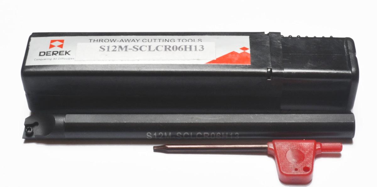 Zapnutie noža S12M S12M SCLCR06 na CCMT06 * FV *