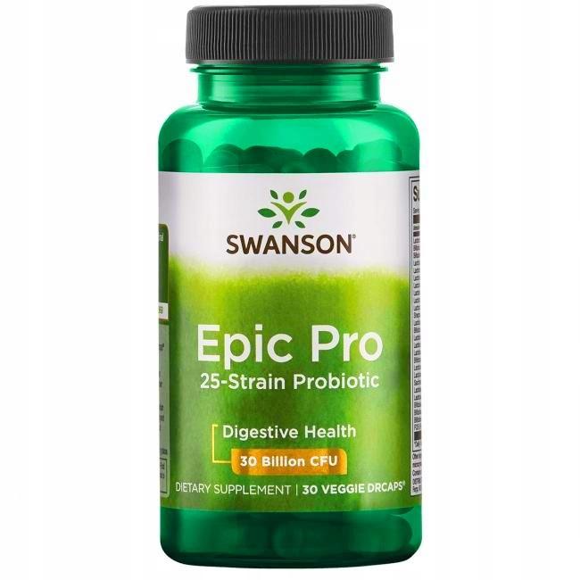 SWANSON PROBIOTYK EPIC PRO 25 szczep.zdrowe jelita