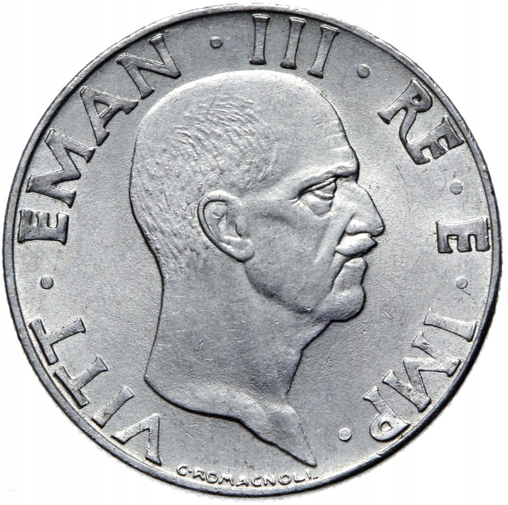 Taliansko - Wiktor Emanuel III - 50 CENTROUTEESI 1942