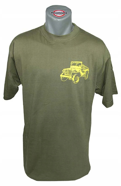 Jeep Willys Small - Olive - Super T-Shirt