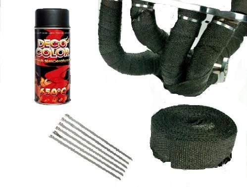 комплект termoizolacyjny черный bandaż+lakier+opaski