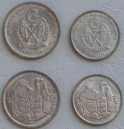 SAHARAWI SAHARA ZACHODNIA zestaw 2 monet