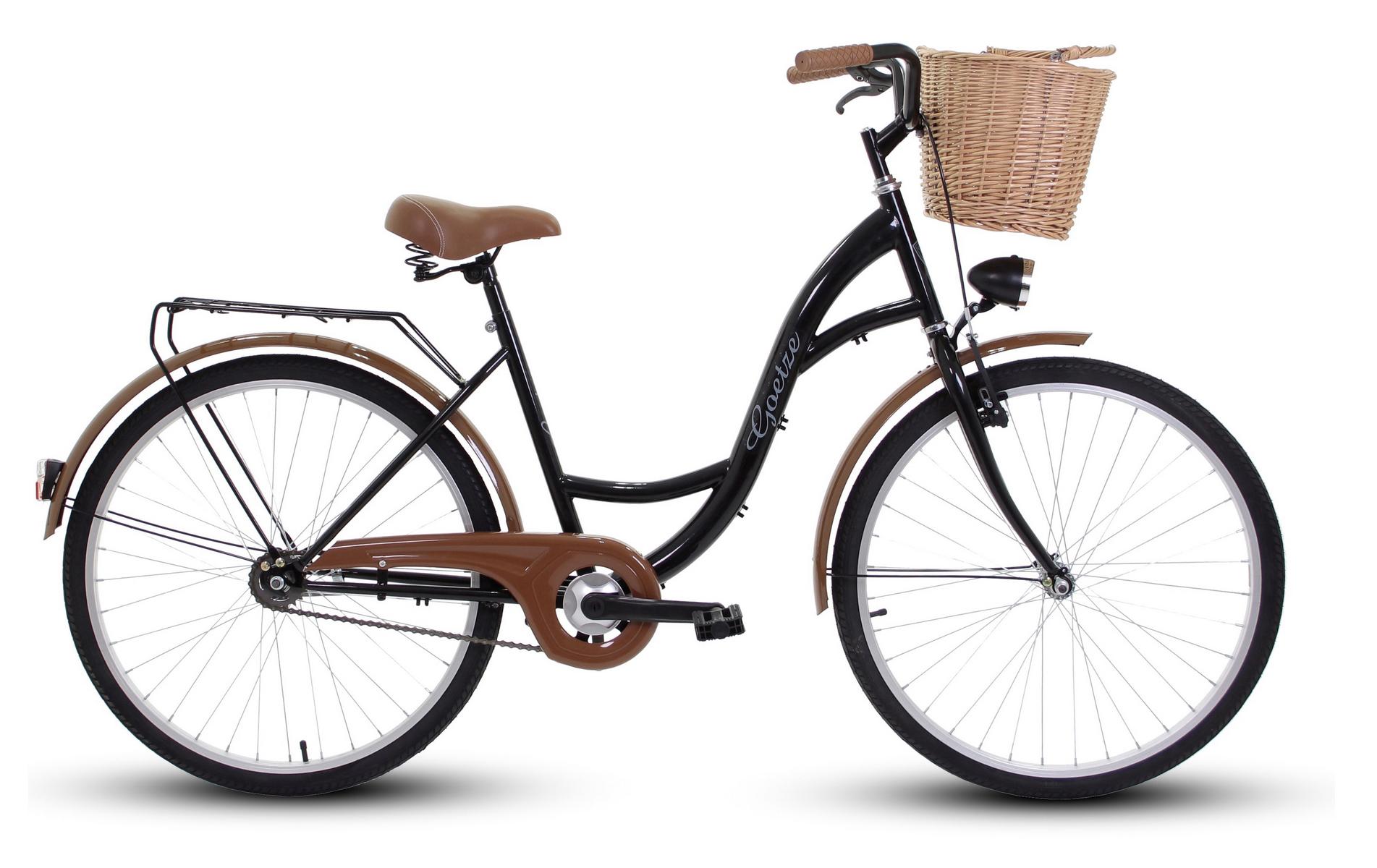 Dámsky mestský bicykel GOETZE 26 eco lady + košík !!!  Torpédové brzdy s brzdou v tvare V.