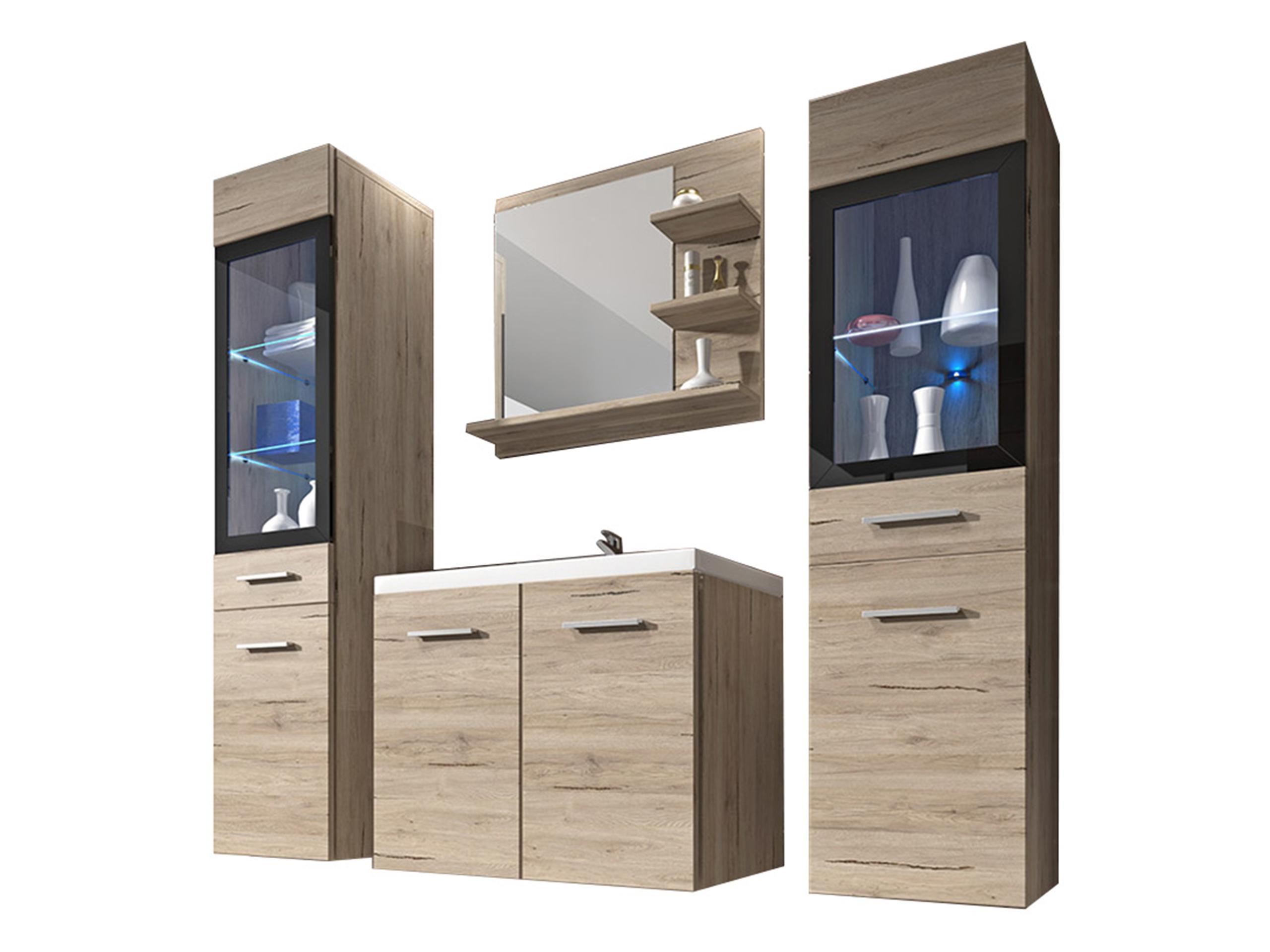 Мебель в ванную UDINE и  Ванная комната шкафчики Зеркало