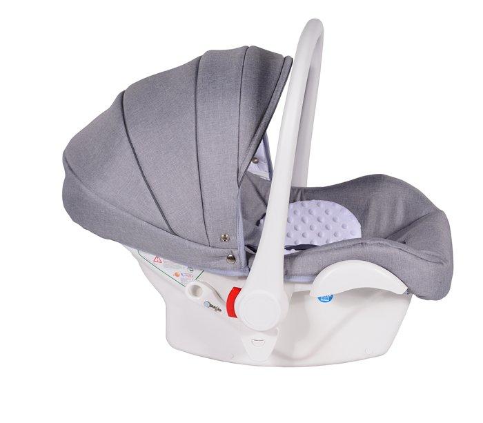 Fotelik samochodowy Neo 0-13 kg dla dzieci (biały) Marka Inny