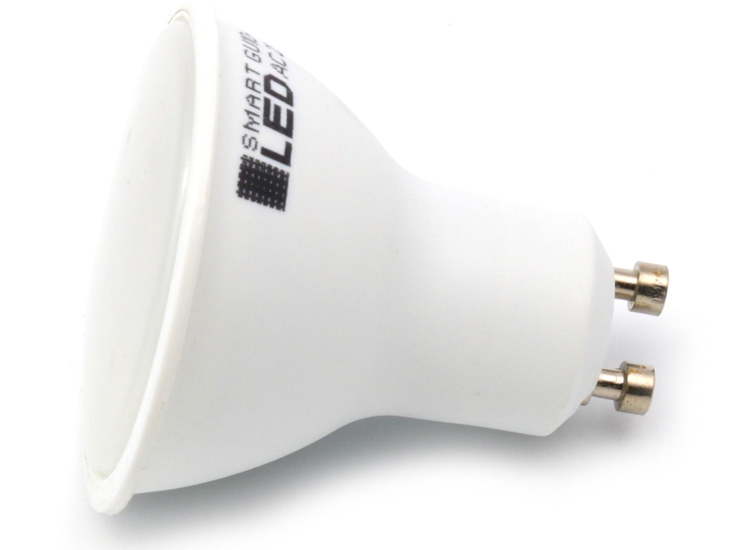 Лампа GU10 LED 2835 SMD 9W CCD Нейтральная белая