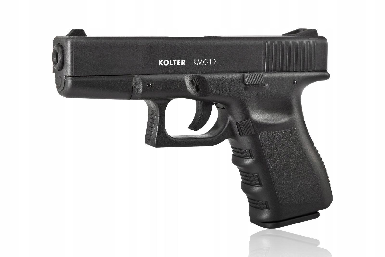 Plynová pištoľ Glock RMG-19 Kolter +kazeta plyn