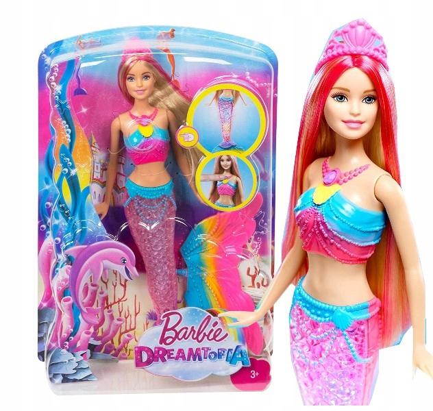 Bábika Barbie DHC40 Barbie Rainbow Mermaid