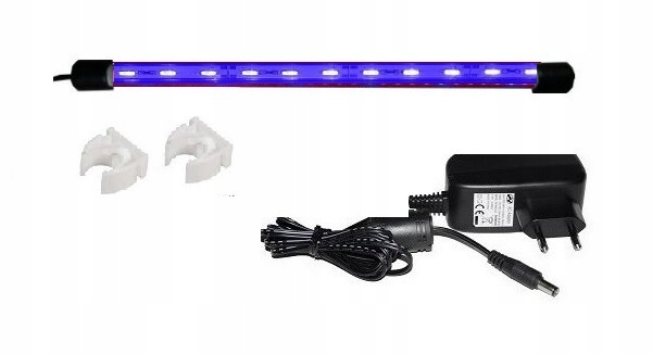 Akvarijné osvetlenie LED 70 cm modrá MALAWI