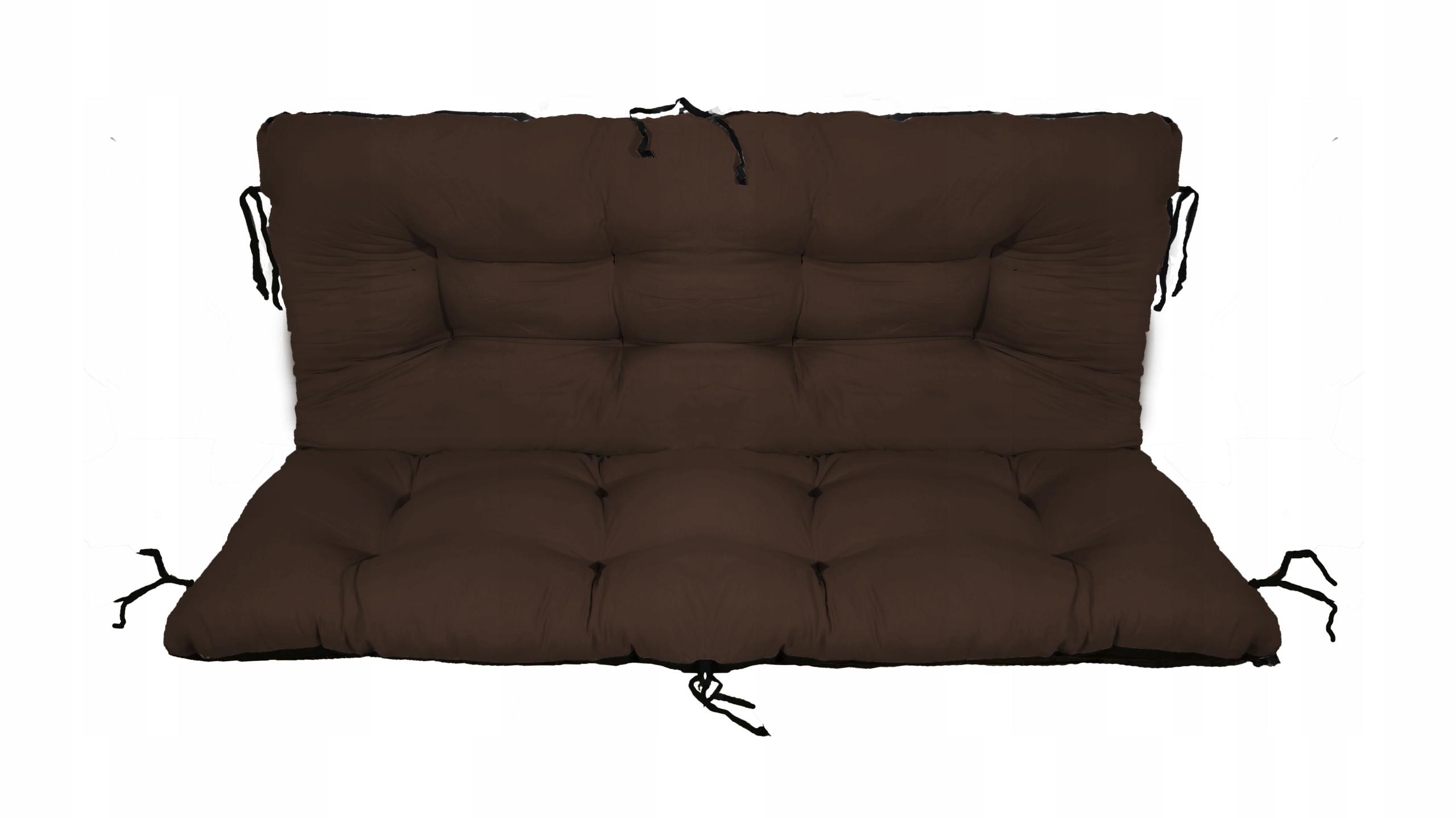 Подушка для садовой качели 100x60x50 коричневая