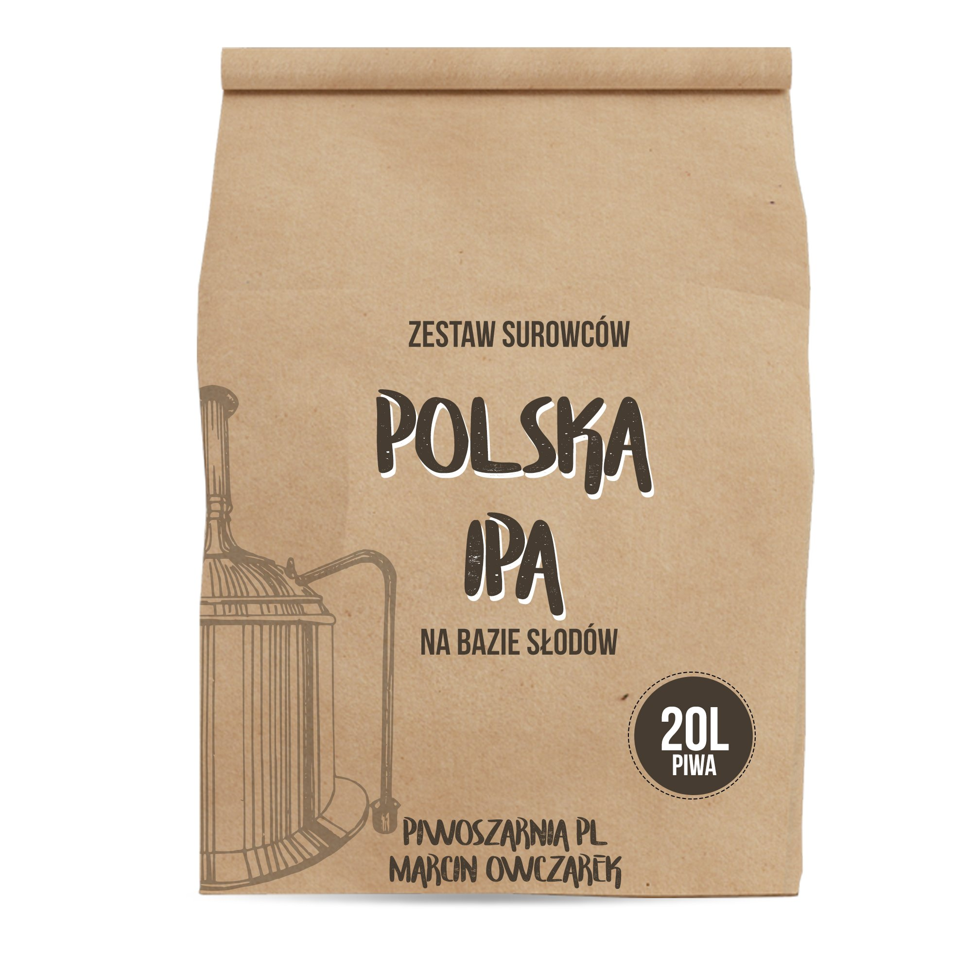 Polska IPA - zestaw do piwa słód chmiel