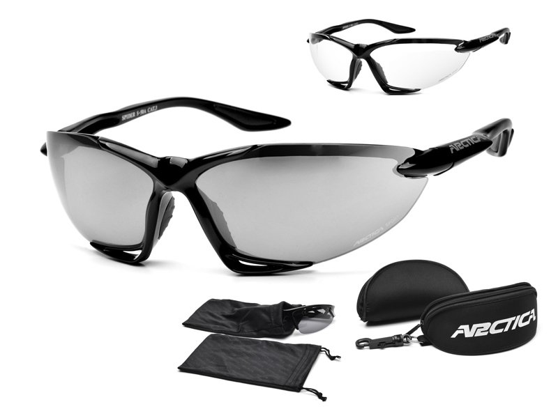 Arctica S-50 okuliare Odnímateľné sklenené bicykle +