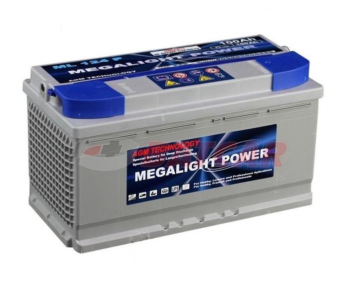 AGM batérie Pre Vašu Loď thermotrousers MEGAlight 100 Ah