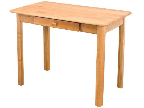 MASÍVNY stôl 90x50 so zarážkou farby na DARČEK stôl